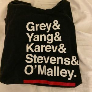 greys anatomy name tee